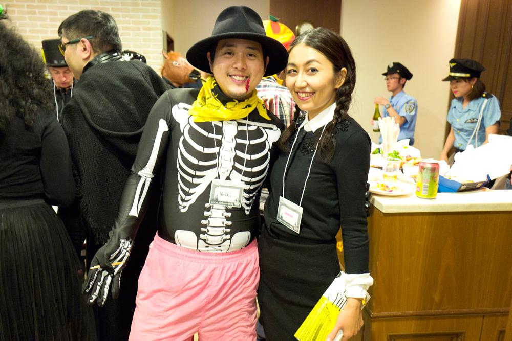 kimonosnack gaba halloween party and wednesday s costume